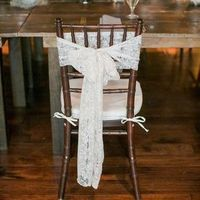Lace Chair Decor