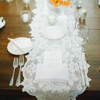 Vintage Lace Tablerunner