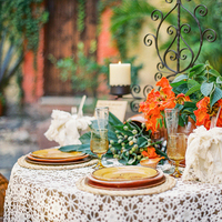Tuscan Lace Tablescape