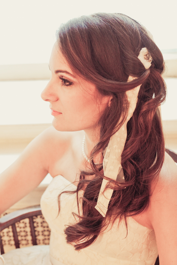 Unique Bridal Hairstyle
