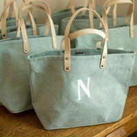 Monogram Tote Bridesmaid Gift