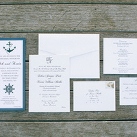 Classic Nautical Wedding Invitations