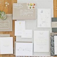 Boxed Rustic Wedding Invitations