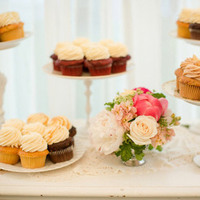 Assorted Cupcake Display