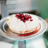Pomegranate Fruit Wedding Cake