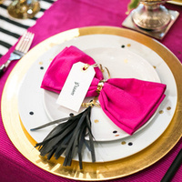 Girly Glam Place Setting