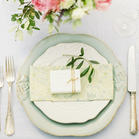 Mint Place Setting