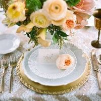 Sparkly Place Setting