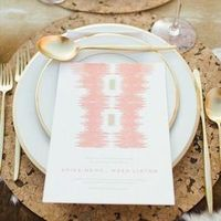 Cork Charger Place Setting