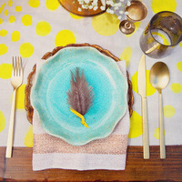 Bright Boho Place Setting