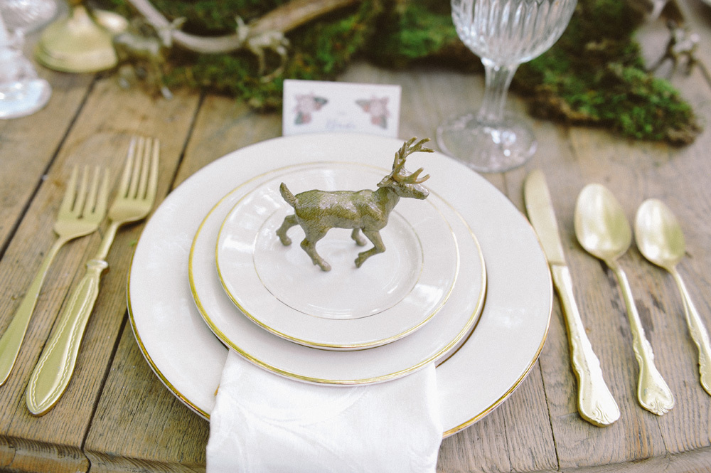 Woodland Place Setting