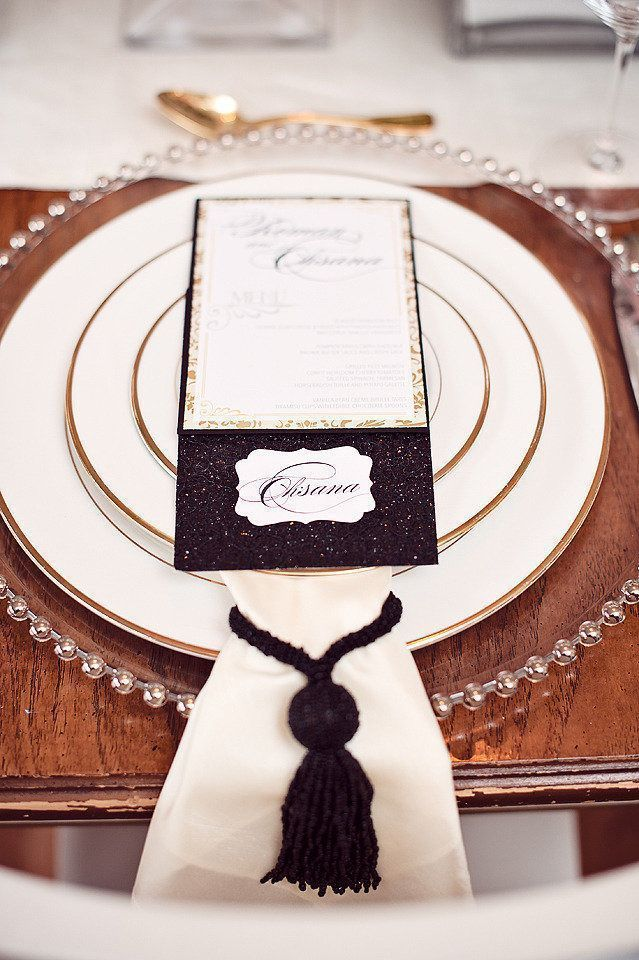 Sophisticated Glam Place Setting