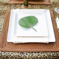Leopard Place Setting