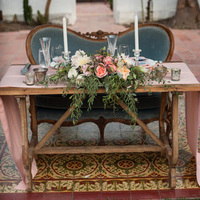 Vintage Garden Sweetheart Table