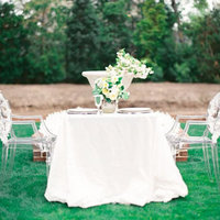 White Garden Sweetheart Table