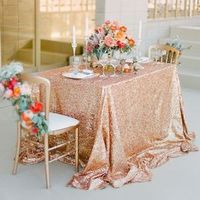 Sequin Sweetheart Table