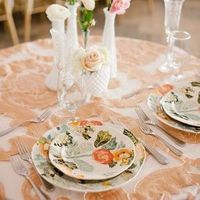 Pretty Blush Sweetheart Table