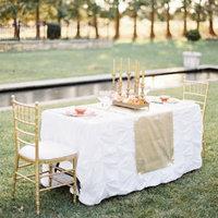 Pretty Garden Sweetheart Table