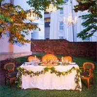 Courtyard Sweetheart Table