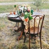 Vintage Chic Sweetheart Table