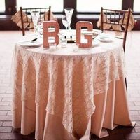 Pink Lace Sweetheart Table