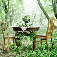 Forest Sweetheart Table