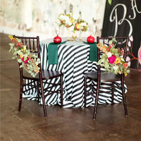 Striped Sweetheart Table