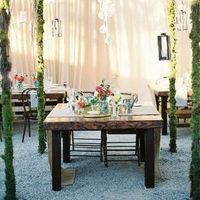 Modern Garden Sweetheart Table