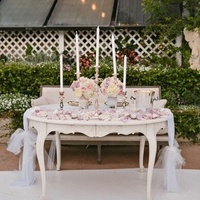 Tulle Sweetheart Table