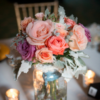 Bridesmaid Bouquet Centerpieces