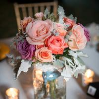 Bridesmaid Bouquet Centerpieces