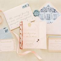 Historic Home Vintage Wedding Invitations