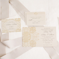 Art Deco Vintage Wedding Invitations