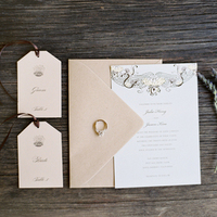 Unique  Vintage Wedding Invitations