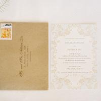 Letterpress Vintage Wedding Invitations