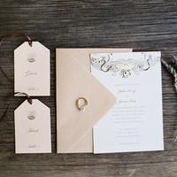 Unique  Vintage Wedding Invitations