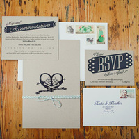 OffBeat Modern Wedding Invitations