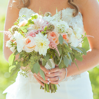 Pastel Bride's Bouquet