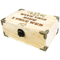 Ring Bearer Pillow Alternative. Rustic Wedding Keepsake box or Ring Bearer Box.