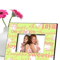 Personalized Flower Girl Frame
