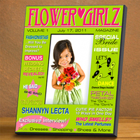 Personalized Flower Girl Magazine Frame