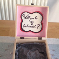 Will you be my bridesmaid, maid of honour, flower girl gift box