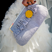 Preppy Wedding Clutch