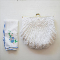 Seashell Wedding Clutch