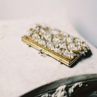 Gold Wedding Clutch
