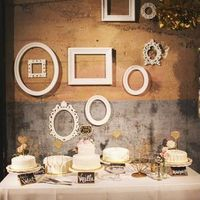 Frame Dessert Display