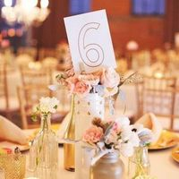 Pretty Paper Table Numbers