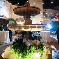 Hydrangea Fountain