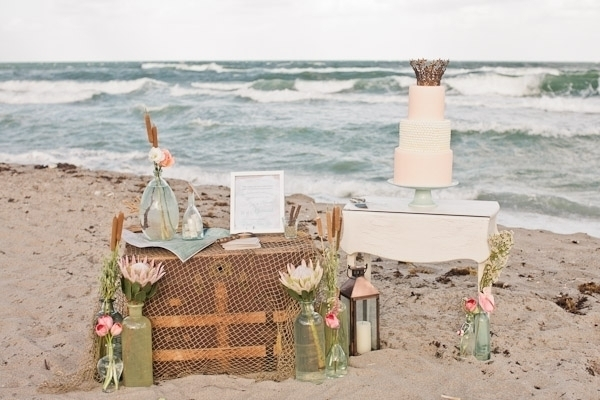 Unique Beach Wedding Decor