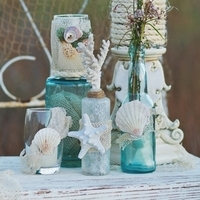 Vintage Beach Wedding Decor